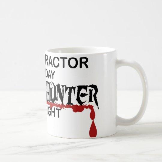 Chiropraktor-Zombie-Jäger Kaffeetasse