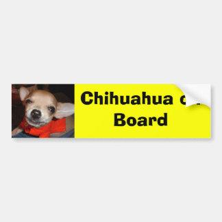 Chiwawa à bord adhésif pour voiture