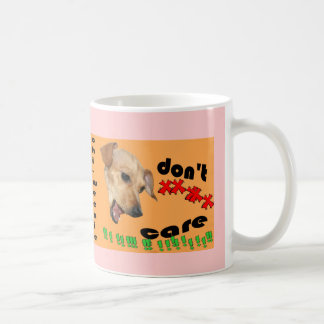 Chiweenie interessieren sich nicht kaffeetasse