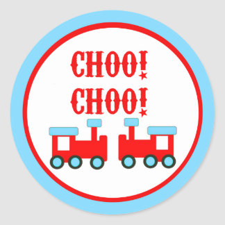 Choo Choo bildet Aufkleber aus