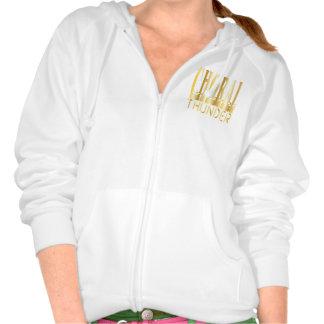 Chorhoodoie Gold Kapuzensweater