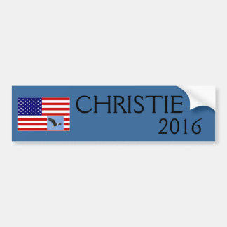 Chris Christie für PräsidentenAutoaufkleber 2016 Autoaufkleber
