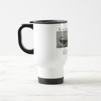 Chris-Handwerks-Kaffee-Reise-Tassen-Schale mit Reisebecher