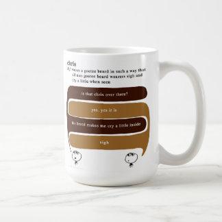 Chris Kaffeetasse