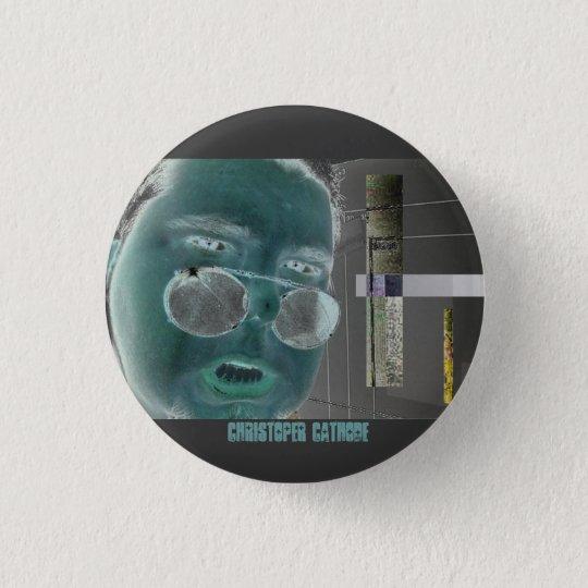 Chris-Kathodenkreisknopf - besonders angefertigt Runder Button 3,2 Cm