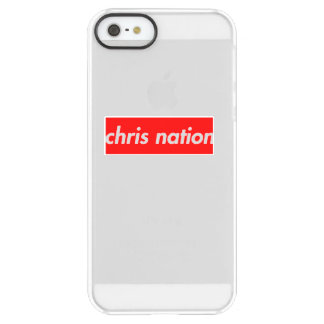 Chris-Nations-Kasten-Logo iphone Fall Permafrost® iPhone SE/5/5s Hülle