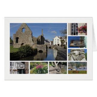 Christchurch Multibild Grußkarte