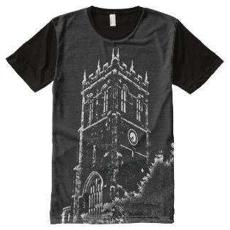 ChristchurchPriory T-Shirt Mit Komplett Bedruckbarer Vorderseite