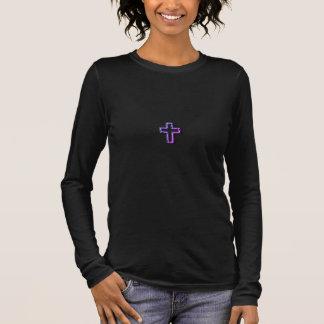 Christian_1 John 5:11 _Sunset Langarm T-Shirt