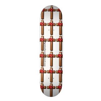 Christlich 19,7 Cm Skateboard Deck
