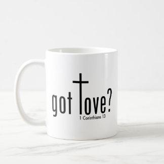 """Christlich """"erhielt Liebe?"""" Tasse Tasse"""