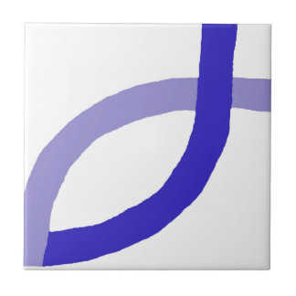 Christliche Produkte - Blau Kleine Quadratische Fliese