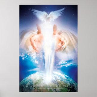 Christliche Wandkunst - HEILIGER GEIST Poster
