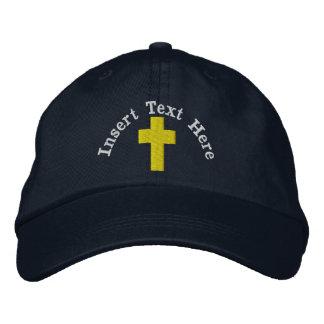 Christlicher gestickter Hut Bestickte Kappen