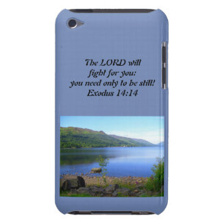 Christliches Iphone oder Ipad Fall-Exodus-14:14 Case-Mate iPod Touch Case