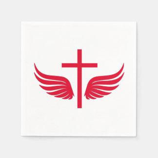 Christliches Kreuz Papierservietten