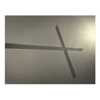 Christliches Kreuz Postkarte