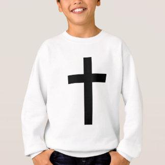 """""""CHRISTLICHES KREUZ """" SWEATSHIRT"""