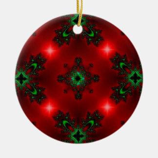 Christmas Artdeco in Retro Style Keramik Ornament