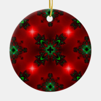 Christmas Artdeco in Retro Style Keramik Ornament
