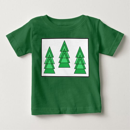 #christmas Baum-Baby-T - Shirt durch Dal