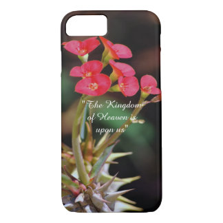 Christus-Dornen-Blume iPhone 8/7 Hülle