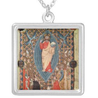Christus in der Majestät mit Heiligen Versilberte Kette