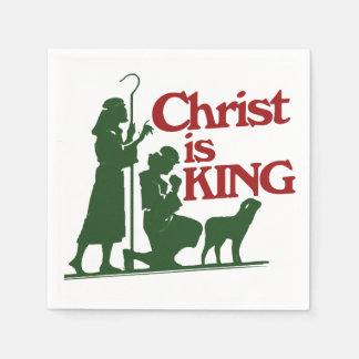 Christus ist KÖNIG Serviette
