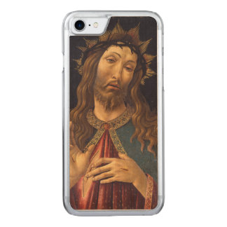 Christus krönte mit den Dornen durch Botticelli Carved iPhone 8/7 Hülle