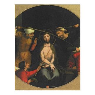 Christus krönte mit den Dornen Postkarte