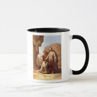 Christus und der reiche junge Machthaber, 1640 Tasse