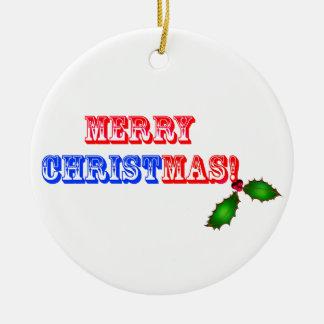 Christus-Weihnachtsverzierung Rundes Keramik Ornament