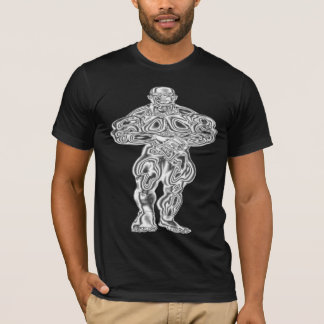 Chrom-Bodybuilder-Pose-T - Shirt