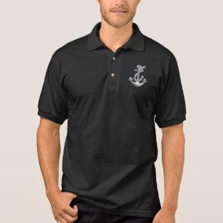 Chrom-Seil-Anker Poloshirt