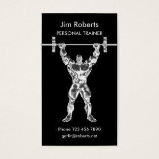 Chromweightlifter-persönlicher Trainer Visitenkarte