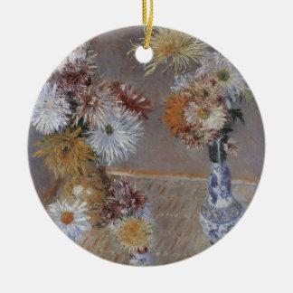 Chrysanthemen durch Gustave Caillebotte Keramik Ornament