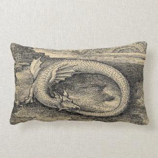 Chrysopoeia Ouroboros Schlange von Kleopatra Lendenkissen