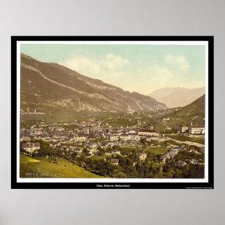 Chur, Grisons, die Schweiz Poster