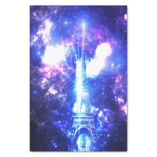 Ciel parisien iridescent papier mousseline