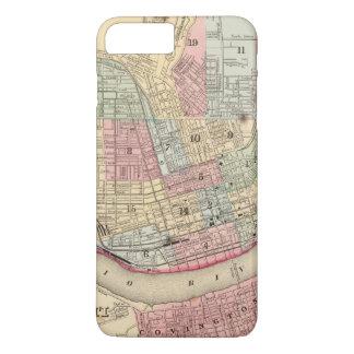 Cincinnati-Karte durch Mitchell iPhone 8 Plus/7 Plus Hülle