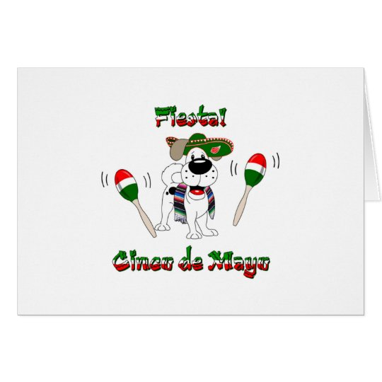 Cinco De Mayo - Fiesta! Grußkarte