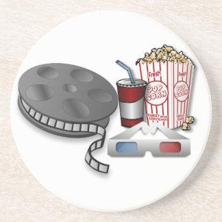 cinéma 3D Dessous De Verre En Grès