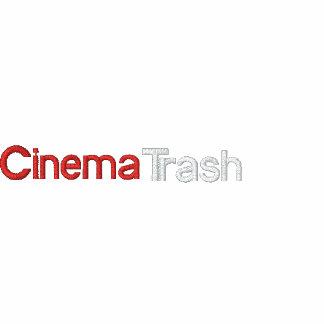 CinemaTrash Golf-Shirt Besticktes Shirt