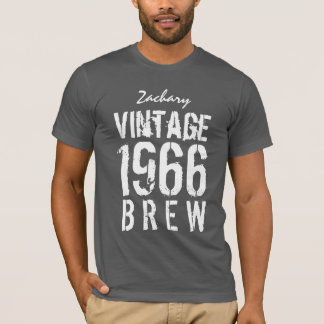 cinquantième Anniversaire Brew de cru de 1966 ou T-shirt