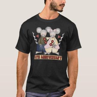 cinquantième T-shirt d'anniversaire de mariage