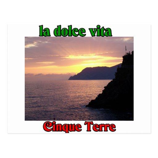 Cinque Terre Italie Cartes Postales