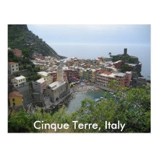 Cinque Terre, Italien Postkarte