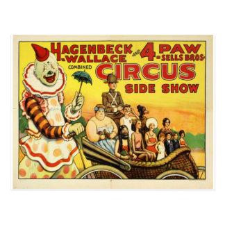 Cirque ancien carte postale