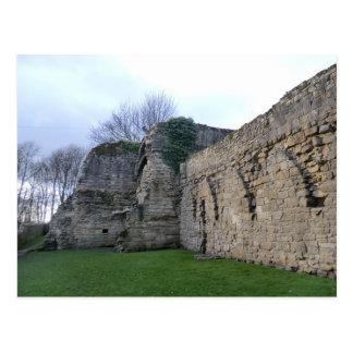 Cistercian Abtei-Ruinen in Culross Postkarte