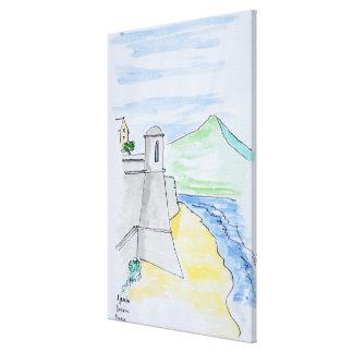 Citadelle d'Ajaccio, Ajaccio | Korsika, Frankreich Leinwanddruck